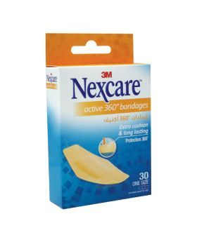 3M Nexcare Active Bandages 30's