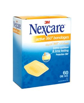 3M Nexcare Active Bandages 60's
