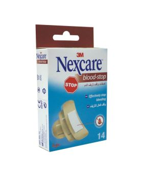 3M Nexcare Blood Stop Assorted Bandages 14's