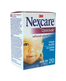 3M Nexcare Junior Opticlude Eye Patch 20's