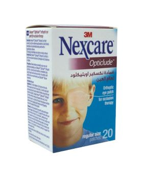 3M Nexcare Opticlude Eye Patch Regular 20's 1539