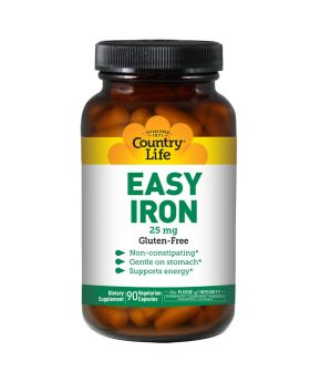 Country Life Easy Iron 25 mg Capsules 90's
