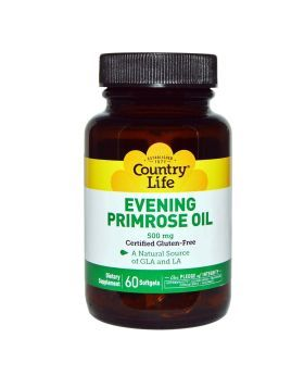 Country Life Evening Primrose Oil 500 mg Softgels 60's