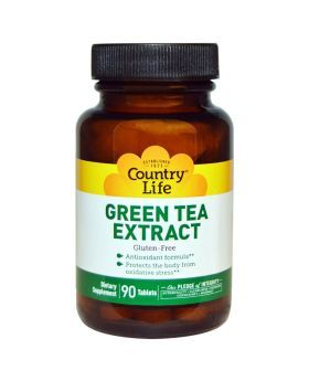 Country Life Green Tea Extract Tablets 90's