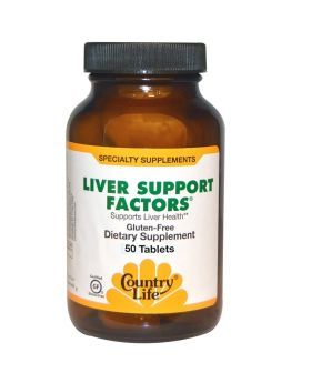 Country Life Liver Support Factors Tablets 50's