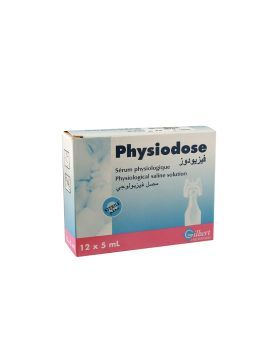 Gilbert Physiodose 0.9% Physiological Saline Solution 5 mL 12's