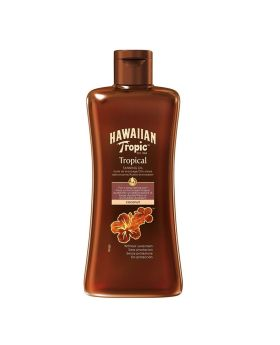 Hawaiian Tropic Tanning Oil Without Sunscreen 200 mL