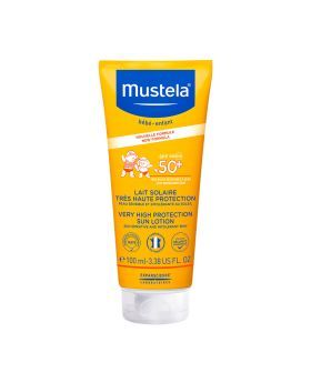 Mustela Very High Protection Sun Lotion SPF 50+ Face and Body 100 mL