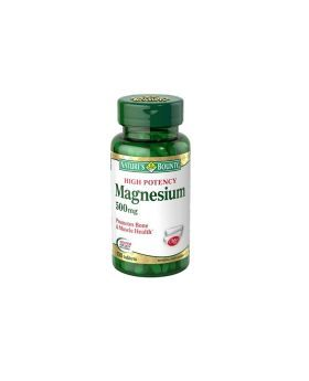 Nature's Bounty High Potency Magnesium 500 mg Tablets 100's