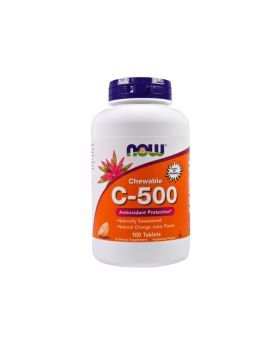 Now C-500 Chewable Tablet 100's