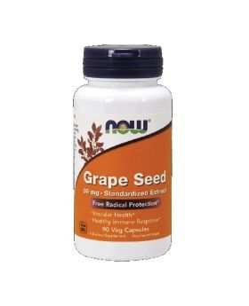 Now Grape Seed Extract 60 mg Capsules 90's