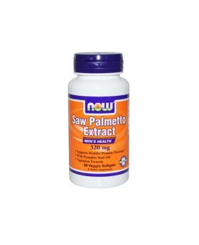 Now Saw Palmetto Extract 320 mg Softgels 90's