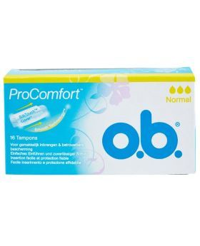 OB Pro Comfort Normal Tampons 16's