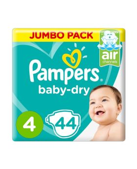 Pampers Baby-Dry 4 44's
