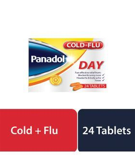 Panadol Cold and Flu Day Tablets 24's