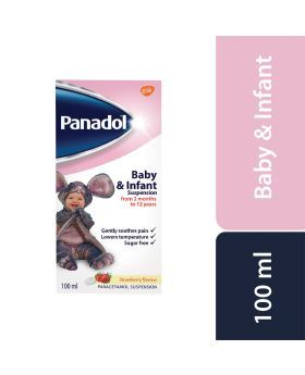 Panadol Baby And Infant Suspension 120mg/5mL 100 mL