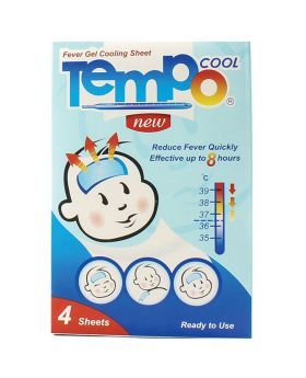 Tempo Cool Children 1+ Year Fever Gel Cooling Sheet