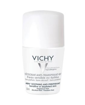 Vichy 48Hr Soothing Anti-Perspirant Roll-On For Sensitive Skin 50 mL
