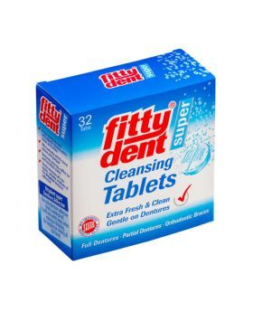 Fittydent Super Cleansing Tablets 32's