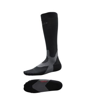 Mueller Graduated Compression Recovery Socks Black