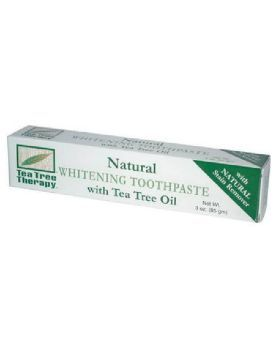 Tea Tree Therapy Natural Whitening Toothpaste 85 gm
