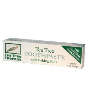 Tea Tree Therapy Toothpaste with Baking Soda and Tea Tree Oil 142 g