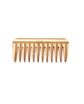 Bass Wide Tooth Medium Wood Comb W2