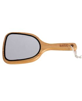 Bass Dresser Mirror With Large Wood Handle 2-Sided MR1