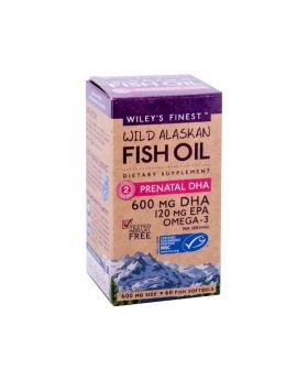 Wiley's Finest Prenatal DHA Softgels 60's