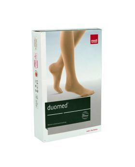 Duomed Calf CCL1 Closed Toe Compression Stocking Large