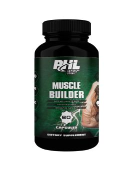 PHL Muscle Builder Capsules 60's