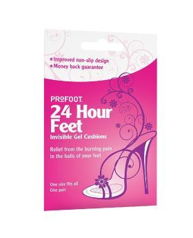 Profoot 24 Hour Feet Invisible Gel Cushions