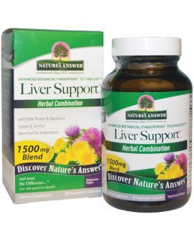 Nature's Answer Liver Support 1500 mg Vegetarian Capsules 90's