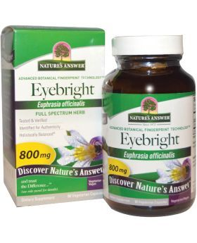 Nature's Answer Eyebright Herb 800 mg Vegetarian Capsules 90's