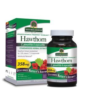 Nature's Answer Hawthorn 358 mg Vegetarian Capsules 60's