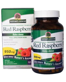 Nature's Answer Red Raspberry Leaf 950 mg Vegetarian Capsules 90's