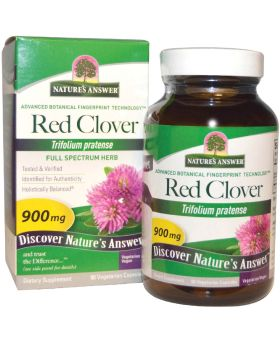 Nature's Answer Red Clover Tops 900 mg Vegetarian Capsules 90's