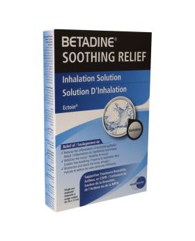 Betadine Soothing Relief Inhalation Solution 2.5 mL 20's
