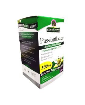 Nature's Answer Passionflower Standardized 500 mg Vegetarian Capsules 60's