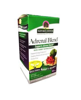 Nature's Answer Adrenal Blend Vegetarian Capsules 90's