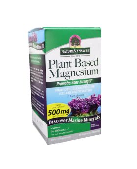 Nature's Answer Plant Based Magnesium 500 mg Vegetarian Capsules 90's