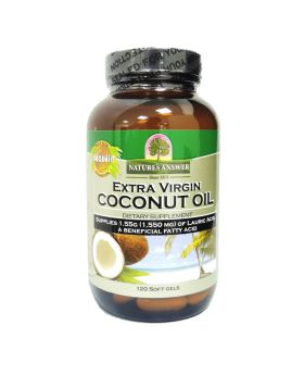 Nature's Answer Extra Virgin Coconut Oil Softgels 120's