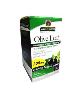 Nature's Answer Olive Leaf 200 mg Vegetarian Capsules 60's