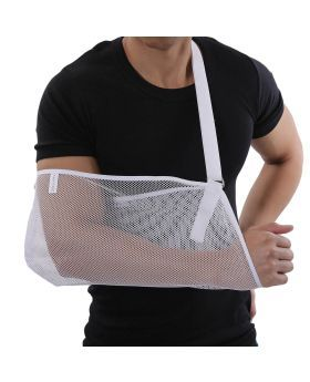 Olympa Arm Sling White One Size OEO-311