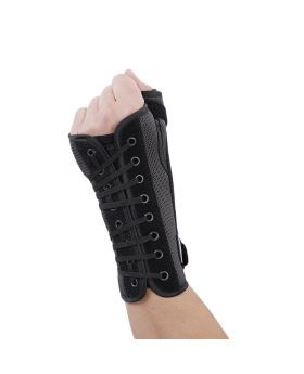 Olympa Wrist & Thumb Brace with Stay Left Grey-Black Small OEH-411