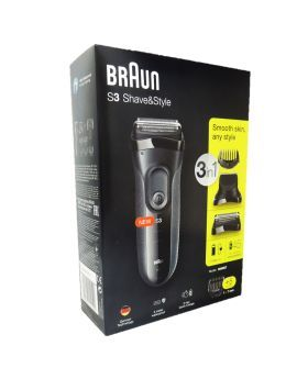 Braun Series 3 Shave and Style Trimmer 3000BT