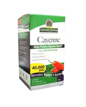 Nature's Answer Cayenne Pepper Fruit Vegetarian Capsules 90's
