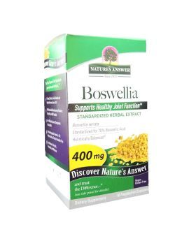 Nature's Answer Boswellia Resin Extract Standardized 400 mg Vegetarian Capsules 90's