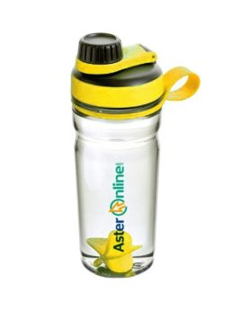 Aster Protein Shaker Bottle with Plastic Mixer 600 mL