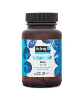 Blueberry Naturals Bioflavonoids 1000 mg Tablets 60's B0142